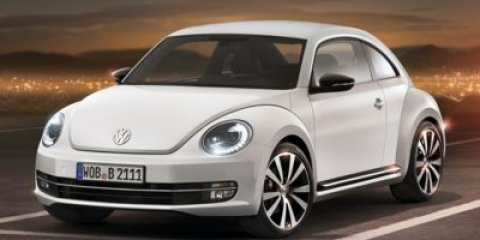 2016 Volkswagen Beetle Coupe 18T SE Pure White V4 18 L Automatic 6 miles The Volkswagen Beet