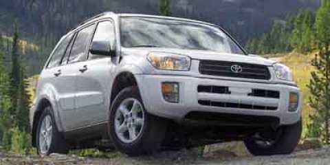 2003 Toyota RAV4 Base Natural WhiteGray V4 20L Automatic 62785 miles One Owner Clean CARFAX