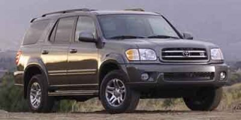 2003 Toyota Sequoia SR5 BlackCharcoal V8 47L Automatic 101401 miles 4-Speed Automatic with Ove