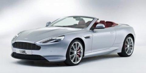 2014 Aston Martin DB9 Midnight BlueSandstorm V12 60 L Automatic 4410 miles  Rear Wheel Drive