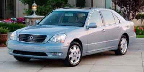 2003 Lexus LS 430 MOONROOF Crystal WhiteEcru V8 43 Automatic 119760 miles New Arrival CARFAX