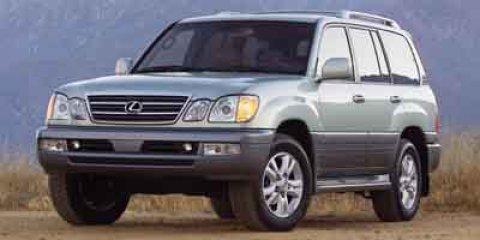 2003 Lexus LX 470 4DR SUV Blizzard Pearl V8 47L Automatic 146231 miles  Four Wheel Drive  Tra