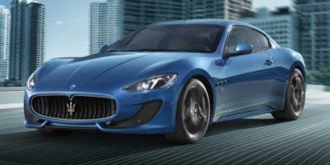 2014 Maserati GranTurismo Sport BLACK V8 47 L Automatic 20722 miles  Rear Wheel Drive  Activ