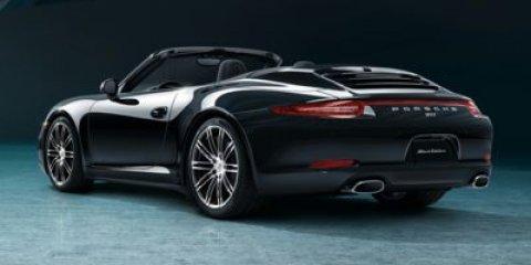 2016 Porsche 911 Carrera Cabriolet BlackStndrd Black V6 34 L Automatic 12 miles Price plus go