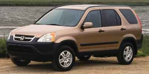 2003 Honda CR-V EX Satin Silver Metallic V4 24L Manual 112291 miles  Four Wheel Drive  Tires