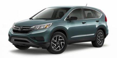 2016 Honda CR-V SE Alabaster Silver MetallicGray Cloth V4 24 L Variable 3 miles   Stock 00