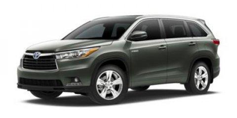 2016 Toyota Highlander Hybrid Limited Platinum Blizzard PearlAlmond V6 35 L Variable 5 miles