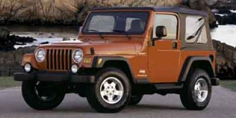 2004 Jeep Wrangler SE Red V4 24L Automatic 99283 miles  Four Wheel Drive  Tires - Front All-T