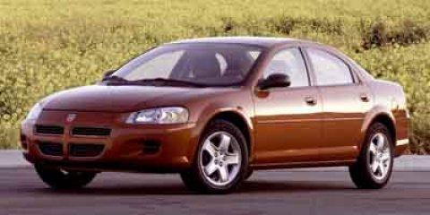 2003 Dodge Stratus SXT Bright Silver Metallic V4 24L Automatic 45623 miles New Arrival Key