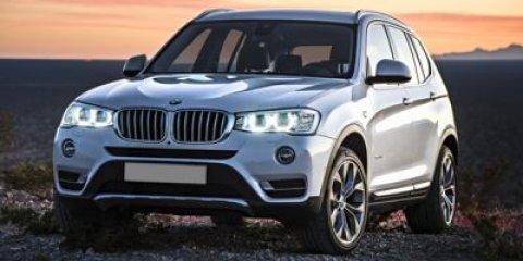 2017 BMW X3 sDrive28i Glacier Silver MetallicOyster V4 20 L Automatic 22 miles  DRIVER ASSIST