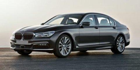 2017 BMW 7 Series 740i Imperial Blue MetallicBeige V6 30 L Automatic 10 miles  WHEELS 18 X 8