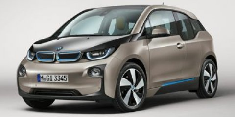 2016 BMW i3 Giga Electric Hatchback RWD Platinum Silver wBMW i Frozen Blue AccentGiga CassiaSpi