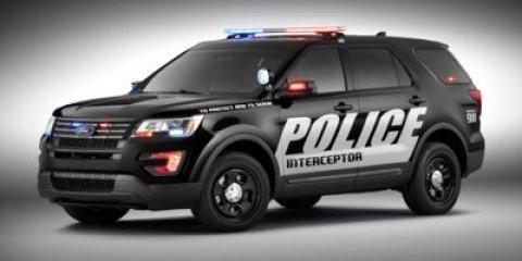 2017 Ford Police Interceptor Utility PLC Yz Oxford WhiteEbony V6 37 L Automatic 0 miles  TRAN