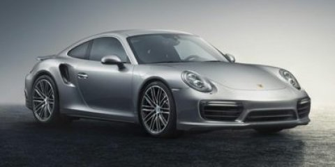 2017 Porsche 911 Turbo WhiteLTHR IN BLKBOR V6 38 L Automatic 9 miles Price plus government
