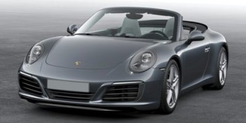 2017 Porsche 911 Carrera Cabriolet Agate Grey MetallicBLACK CAB ROOF V6 30 L Automatic 7 mile