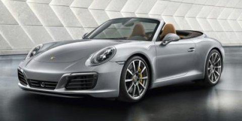 2017 Porsche 911 Carrera S Cabriolet Agate Grey MetallicStandard In Black V6 30 L Automatic 6