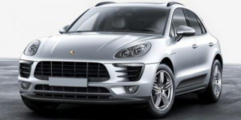 2017 Porsche Macan BlackStandard In Black V4 20 L Automatic 15 miles Those who prefer to bla