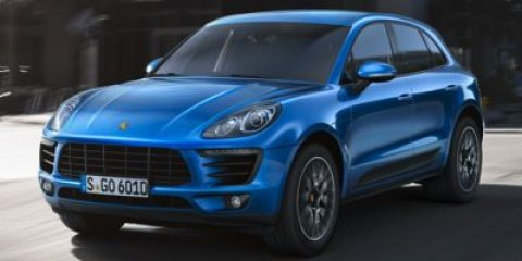 2017 Porsche Macan S WhiteSTNDRD BLACK V6 30 L Automatic 8 miles High performance on the o