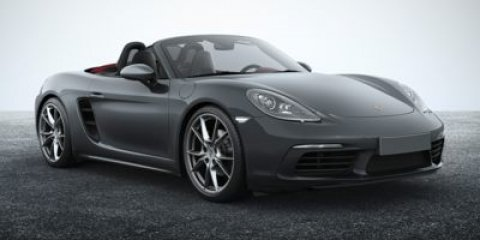 2017 Porsche 718 Boxster Graphite Blue MetallicBlack V4 20 L Automatic 10 miles  BLACK TOP