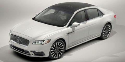 2017 Lincoln Continental Reserve White Platinum Metallic Tri-CoatCappuccino V6 27 L Automatic