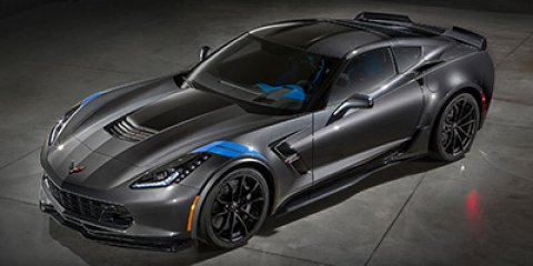 2017 Chevrolet Corvette Grand Sport 3LT Watkins Glen Gray MetallicTension Blu Lthr WSuede V8 6