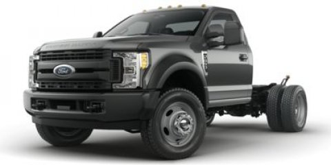 2017 Ford Super Duty F-550 DRW XL Oxford White1S Cloth 402040 Seat Medium Earth Gray V8 67 L
