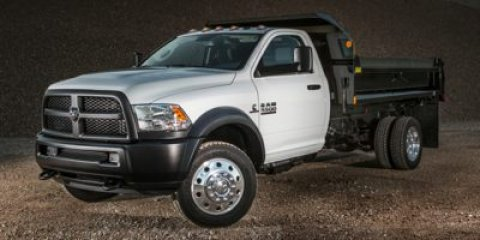 2017 Ram 5500 Chassis Cab V BRIGHT WHITE CL V6 67 L Automatic 5 miles  Four Wheel Drive  Pow