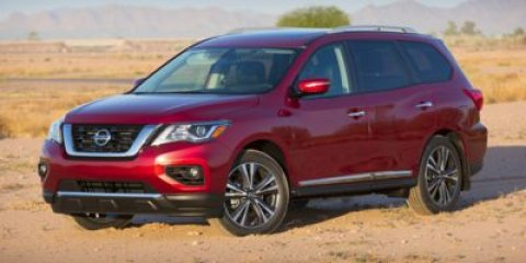 2017 Nissan Pathfinder Platinum Cayenne Red MetallicCharcoal V6 35 L Variable 0 miles The Nis