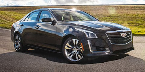 2017 Cadillac CTS Sedan Premium Luxury RWD Radiant Silver MetallicJET BLACK V6 36L Automatic 1