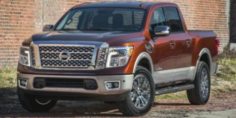 2017 Nissan Titan SL Pearl WhiteBlack V8 56 L Automatic 0 miles  Rear Wheel Drive  Tow Hitch