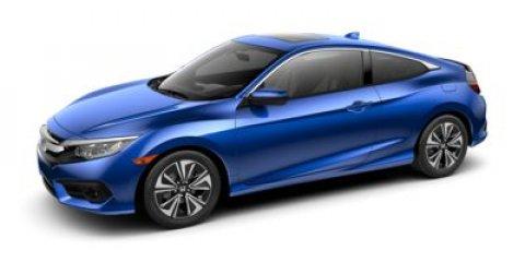 2017 Honda Civic Coupe EX-T Rallye RedBlackIvory V4 15 L Variable 0 miles  Turbocharged  Fr