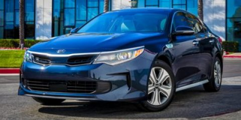 2017 Kia Optima Hybrid Base Snow White PearlBlack V4 20 L Automatic 2 miles Delivers 46 Highw