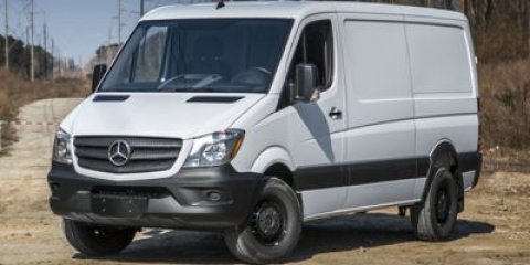 2017 Mercedes Sprinter Cargo Van Worker Arctic WhiteTunja Black V6 30 L Automatic 6 miles  Tu