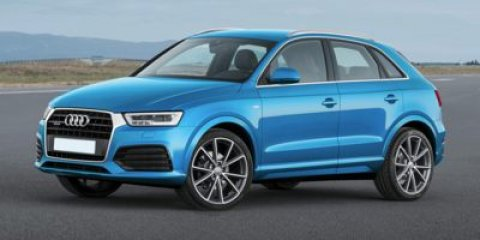 2018 Audi Q3 Premium Plus Florett SilverBlack V4 20 L Automatic 9 miles The Audi Q3 is the cr