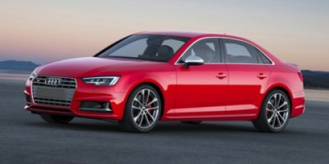 2018 Audi S4 Premium Plus Glacier White MetallicMagma Red V6 30 L Automatic 19 miles Start up