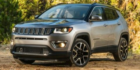 2017 Jeep Compass Latitude White ClearcoatSki GrayBlack V4 24 L Automatic 0 miles  SKI GRAY