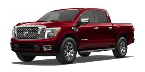 2017 Nissan Titan Platinum Reserve BLACKET V8 56 L Automatic 1 miles  Four Wheel Drive  Tow