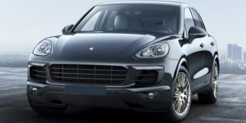 2017 Porsche Cayenne Platinum Edition BlackStd Blk V6 36 L Automatic 5 miles Still the great