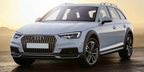 2018 Audi A4 allroad Prestige Scuba BlueNougat Brown V4 20 L Automatic 4 miles  PRESTIGE PACK