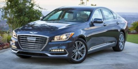 2018 Genesis G80 38L Casablanca WhiteGrey V6 38 L Automatic 5 miles  03  CT  Rear Wheel Dr