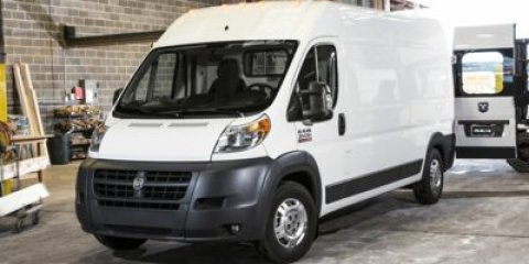 2018 Ram ProMaster Cargo Van Bright White ClearcoatBlack V6 36 L Automatic 16 miles Finance O