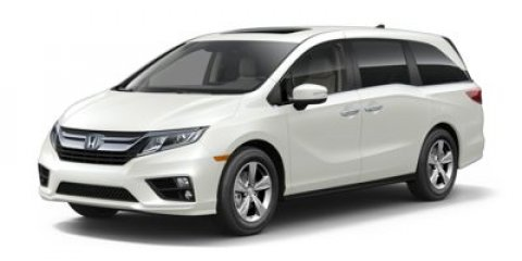 2018 Honda Odyssey EX-L with Navigation and Rear En Lunar Silver MetallicMocha V6 35 L Automati