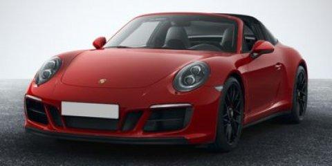 2018 Porsche 911 Targa 4 GTS Carmine RedBlack V6 30 L Automatic 234 miles GTS Interior Packa