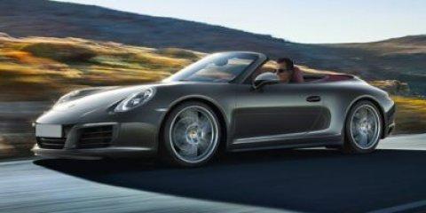 2018 Porsche 911 Carrera 4 Cabriolet BLACKSTANDARD IN BLACK V6 30 L Automatic 14 miles The n