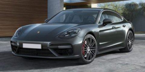 2018 Porsche Panamera Turbo WhiteLTHR BLKCHALK V8 40 L Automatic 5 miles Price plus govern