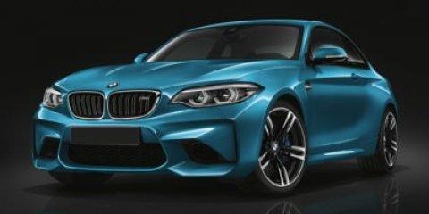 2018 BMW M2 Coupe Long Beach Blue MetallicBlack Dakota Leather with Blue Stitching V6 30 L Auto