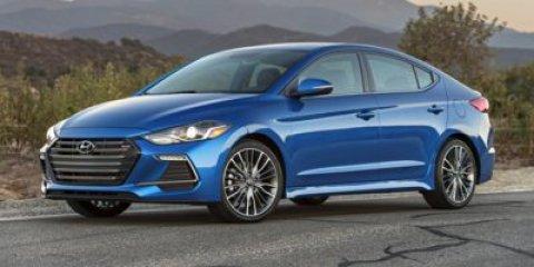 2018 Hyundai Elantra Sport BlueBlack V4 16 L Automatic 13 miles  Turbocharged  Front Wheel D