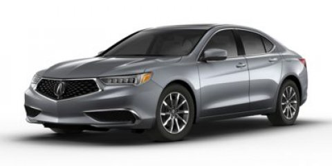 2018 Acura TLX TLX24 Lunar Silver MetallicEbony V4 24 L Automatic 7 miles  SI EN ZZ1 Stock