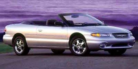 2000 Chrysler Sebring JXi Light Cypress Green PearlBlackGray V6 25L Automatic 125656 miles