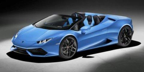 2018 Lamborghini Huracan Performante Spyder Bianco IcarusNero Cosmus V10 52 L Automatic 1483 m
